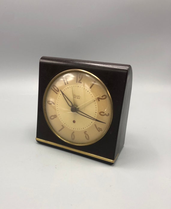 Art Deco electric desk clock