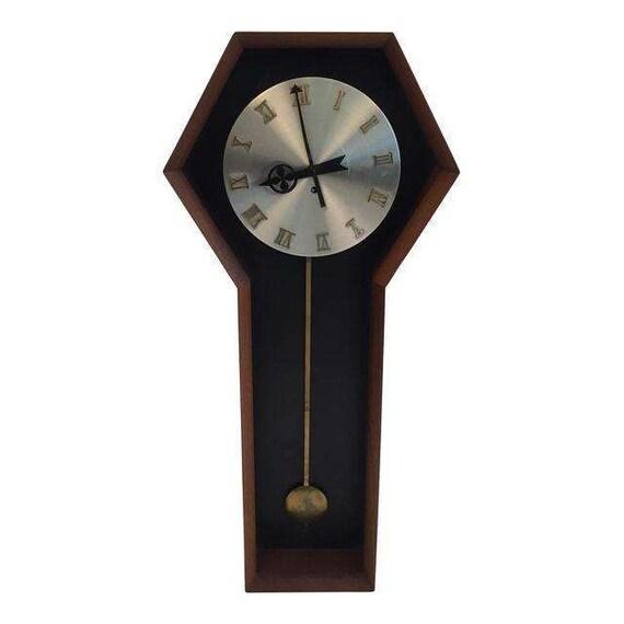 Mid-Century Wall Clock Howard Miller Company