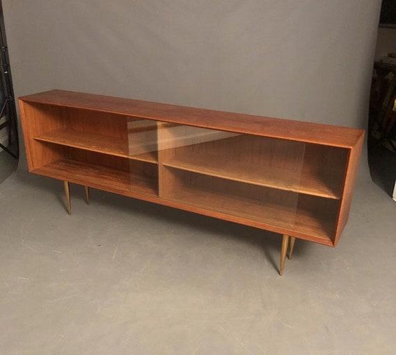 Mid Century, Teak, side board, console, Credenza Danish, Modern Sideboard