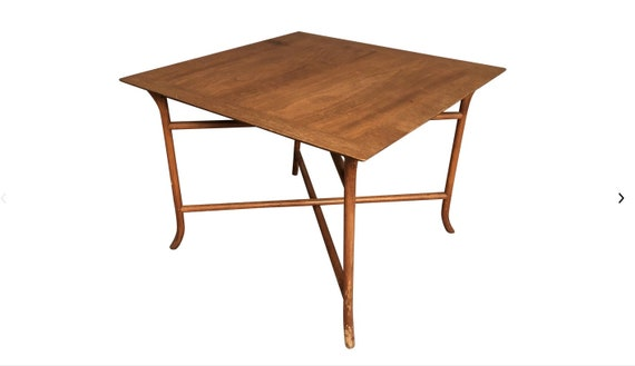 1970s Mid Century Modern John Widdicomb Teak Coffee Table by