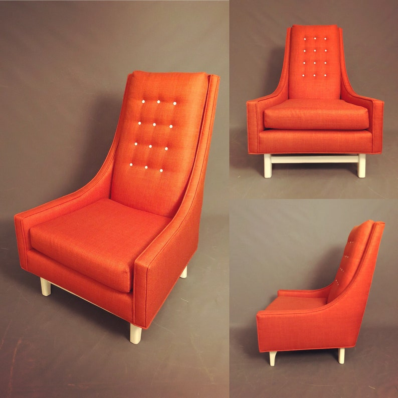 Pleasing Curated Mid Crntury Adrian Pearsall High Back Lounge Chair Camellatalisay Diy Chair Ideas Camellatalisaycom