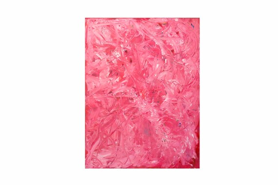 """Oil on Canvas by Bruce Mishell Titled """"Pink Party"""""""