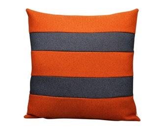 """Contemporary handmade artisan cotton pillow 16 x 16"""" inches"""