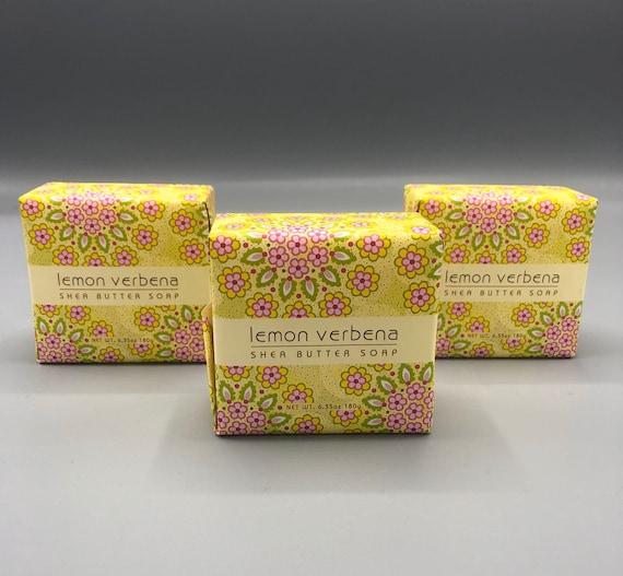 Lemon Verbena shea butter Bar soap 6.35oz