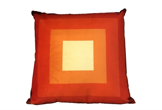 Geometric Pattern Print Velvet Pillow