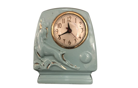 Mid-Century Ceramic electric Clock