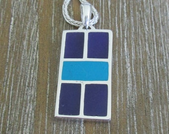 Sterling Silver Court Pendant (pb81-f)