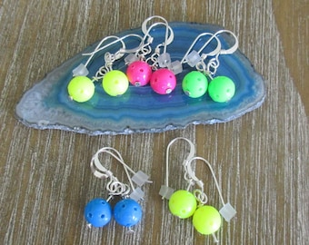Stocking Stuffer Pickleball Earrings (pbec)