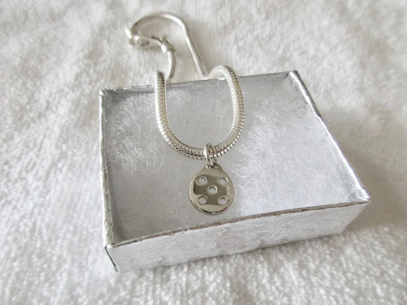 NEW Sterling Silver Pickleball Ankle Chain pba image 0