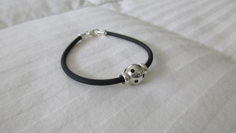 Rubber Cord Pickleball Bracelet image 0