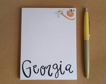 Georgia Notepad