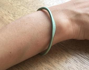 Crochet Hook Bracelet, Crochet Jewelry, Crocheting Jewelry, Dainty Bracelet, Simple Bracelet, Cool Bracelet, Unique gift