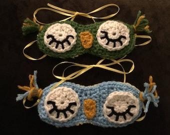 Sleeping Owl Eye Masks