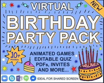 Virtual Party Etsy
