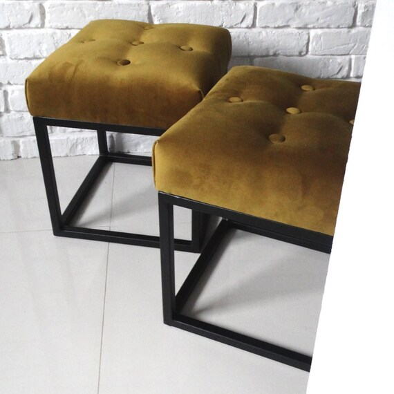 Surprising Modern Bench Mini Loft Scandinavian Style Ottoman Industrial Livingroom To Size Gold Velur Decor Seat Upholstered Decoration Hallway Lobby Unemploymentrelief Wooden Chair Designs For Living Room Unemploymentrelieforg
