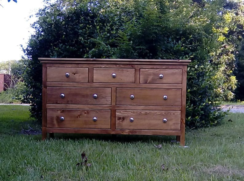 Commode Commode Chambre à Coucher Commode Bois Massif | Etsy