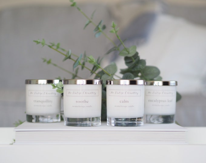 Aromatherapy Naturals - 100% essential oil candles