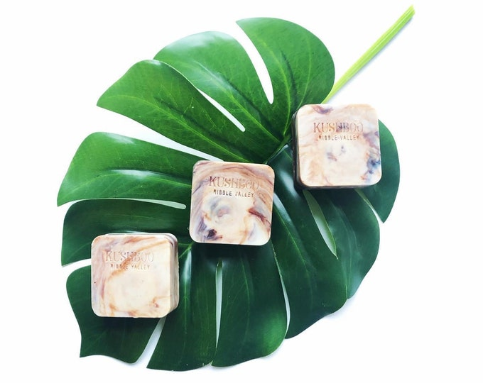 Natural vegan essential oil botanical soaps