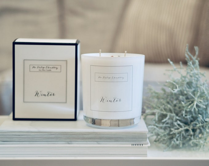 Made to order* bespoke fragranced Deluxe boxed candle
