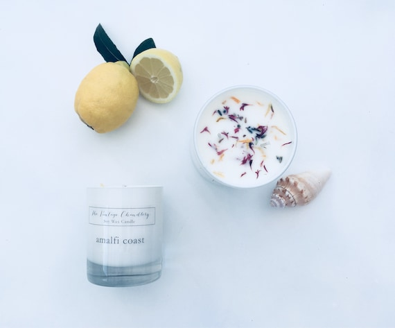 Boutique two wick soy wax candles