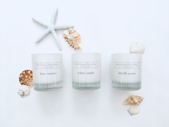 Boutique one wick soy wax candles