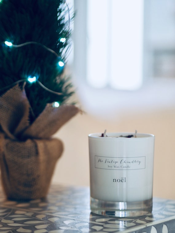 Two wick soy wax candles