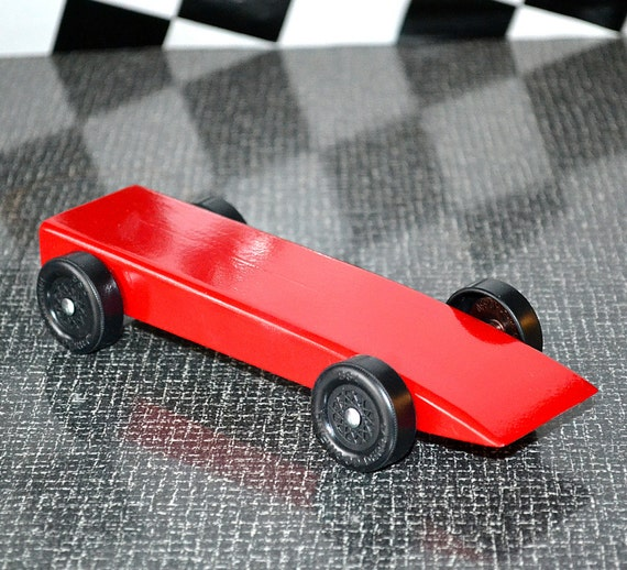 Fast Pinewood Derby Car From Official Bsa Cub Scout Derby Kit Etsy