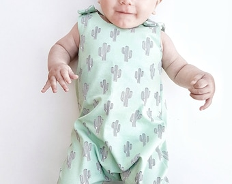 Baby Romper, Toddler Romper, Cactus Romper, baby boy romper, Baby girl romper, Baby onesie, Baby gift, baby shower gift, baby clothes