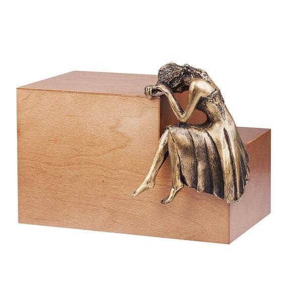 Memorial Cremation Casket Ashes Urn For Adult Unique Funeral Urn For Ashes Uk