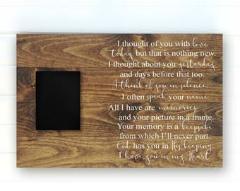 Wood Memorial Sign - Memorial Heaven Sign - Memorial Sign - Condolence Sign - Loving Memory Sign - Bereavement Gifts - Condolence Signs