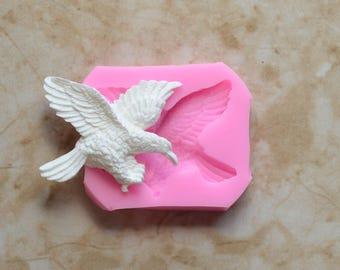 Eagle silicone mold Jewelry mold,Decoration Mold,3d Silicone fondant mold,Aromatherapy Mold,Silicone Soap Mold,American Eagle Bird