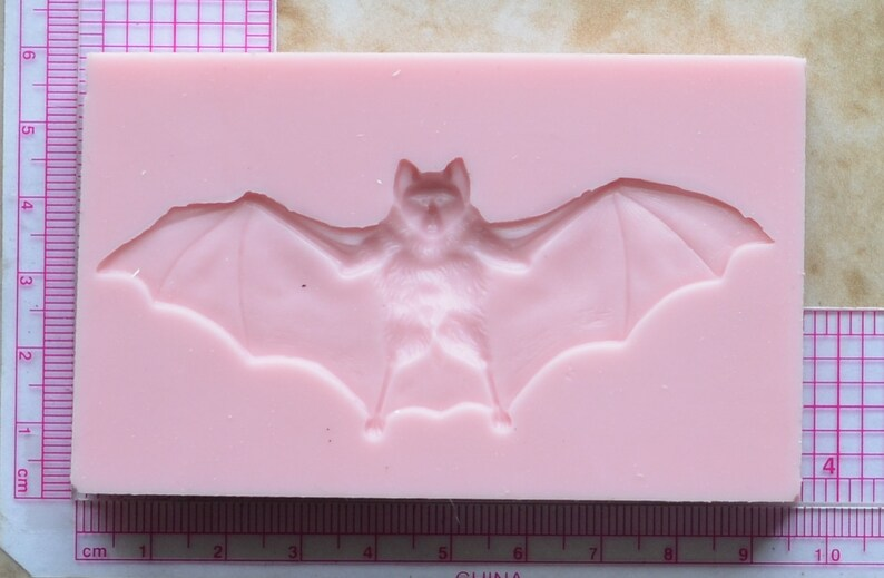Bat Silicone Mold Molds Cookies A210 Chocolate Cake Silcone Cooking Clay Animal Candy Farm Jewelry