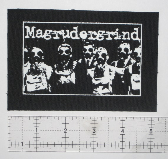 WOLFBRIGADE Crust Punk Patch D-beat Inepsy Warvictims Extinction of Mankind