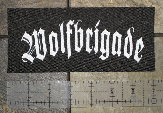 Warvictims Crust Punk Patch D-beat Inepsy Wolfbrigade Extinction of Mankind DIY