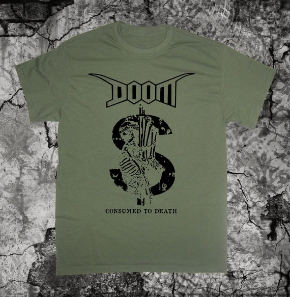 DOOM Patch Antisect Anti Cimex Filth D-beat Extreme Noise Terror Crust Punk DIY