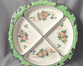 Decorative Floral Serving Tray // Decorative Tray // Retro Kitchen // Floral Kitchen // Vintage Serving Tray // Vintage Wall Art (B13)
