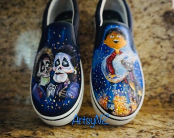 1346e0cf7ad5 Hand Painted Coco shoes