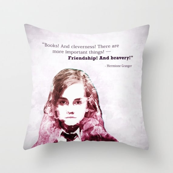 Harry Potter Throw Pillow | Etsy