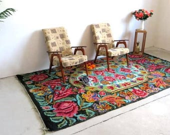 Tapis Kilim Ancien Tapis Kilim Ancien Caucasien Karabagh Fait Main - Carrelage pas cher et tapis azilal