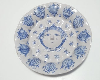 Rare Bjorn Wiinblad Studio Workshop dish