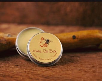 Honey Lip Balm with Essential Oil