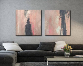 ABSTRACT PAINTING- - Painting Original Canvas Art Contemporary Abstract Modern Art