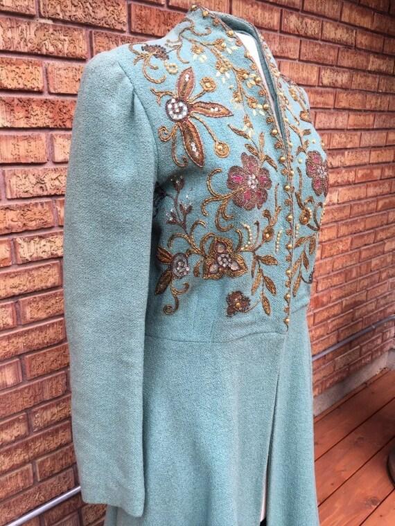 Stunning 1940s Beaded Coat