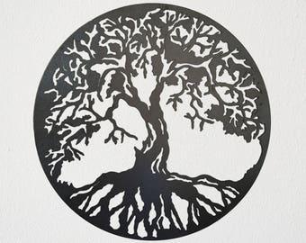 Tree of Life (variation one) Metal Art