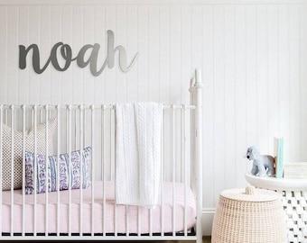 Custom Metal Name Sign - Playroom, Nursery and more!