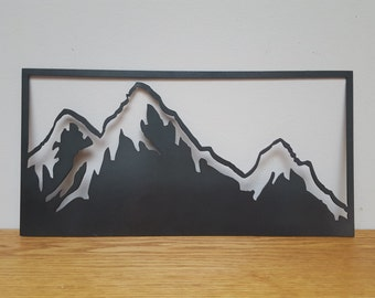 Mountain Range Wall Art