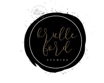 Premade Logo, Graphic Design, Business Logo, Logo Design, Round Logo, Photography Logo, Wedding Photographer Logo