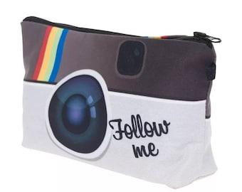 Instagram Inspired Cosmetics Bag