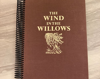 Wind in the Willows, Upcycled, Repurposed, Journal, Last Minute, Blank Pages, Storybook, Diary, Sketchbook