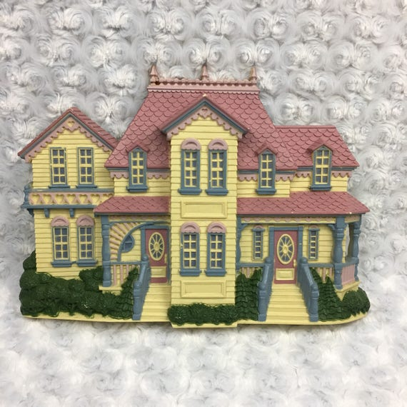 Burwood Products Victorian Home House Vtg Home Interiors Wall | Etsy